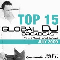 Global DJ Broadcast Top 15 - July 2009 Cover